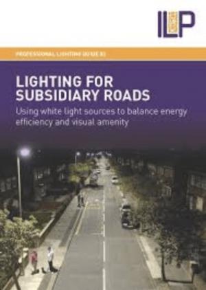 PLG03 LIGHTING FOR SUBSIDIARY ROADS