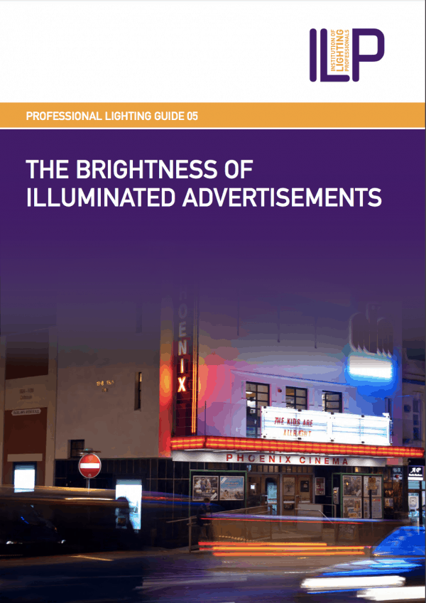 PLG05 THE BRIGHTNESS OF ILLUMINATED ADVERTISEMENTS