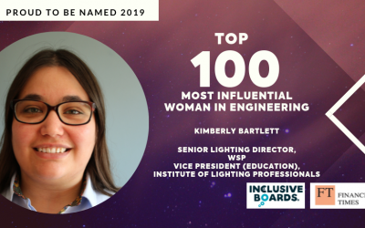 ILP Vice President Education, recognised as one of the 100 most influential women in engineering