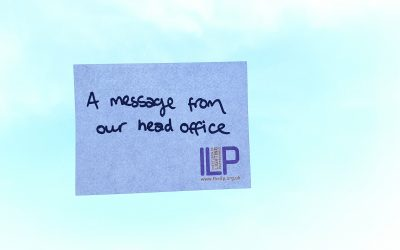 Important message from the ILP