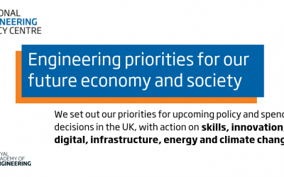 Engineering profession calls for action to secure the UK's future society