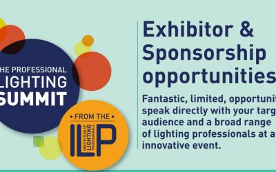 Exhibitor & sponsorship opportunities at Professional Lighting Summit 2019