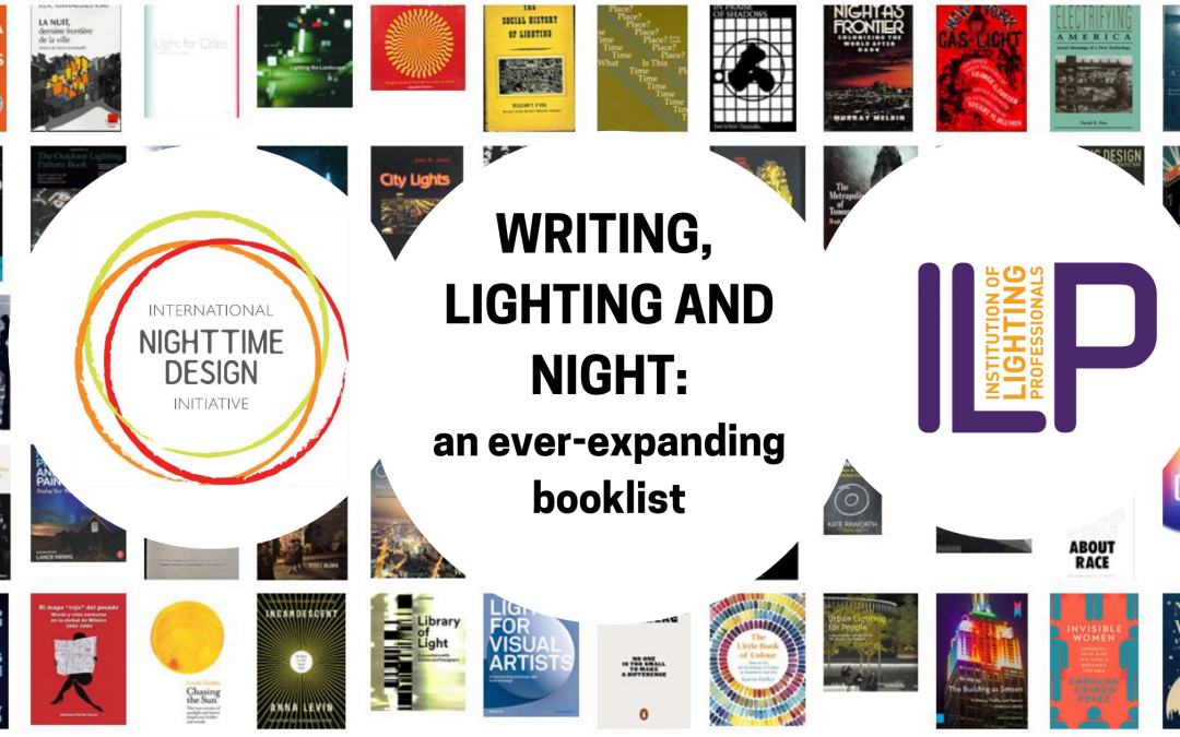 Writing, lighting and night: an ever-expanding booklist – launch event