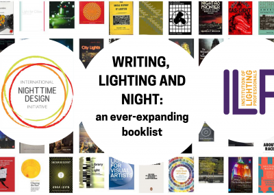 Writing, lighting and night: an ever-expanding booklist