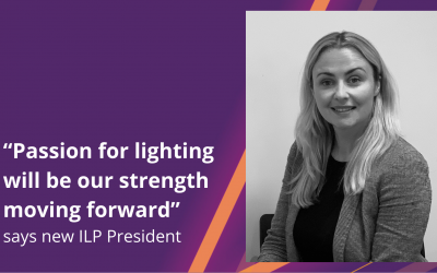 """""""Passion for lighting will be our strength moving forward"""" says new ILP President"""
